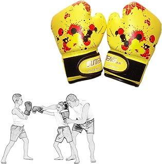 MEISISLEY Manoplas Boxeo Guantes Boxeo Hombre Guantes de Boxeo Junior Guantes de Boxeo Guantes de Kickboxing Boxeo Almohadillas Golpe Guantes