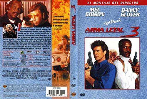 arma letal 3 dvd lethal weapon 3 MONTAJE del Director