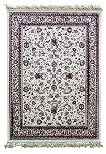 alfombras baratas com 042 Belga Alfombra Estilo CLÁSICO Floral - Alfombra Beige