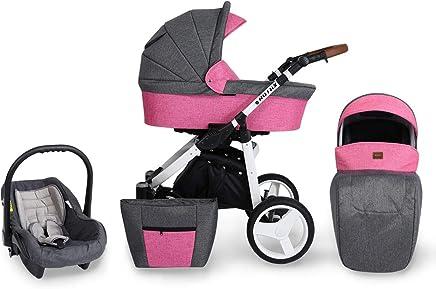 Amazon.es: Carritos con capazo - Carritos y sillas de paseo: Bebé