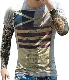 f130d80567 T-Shirt da uomo _ feiXIANG Moda Casuale Maniche Corta Girocollo T Shirt  Stampa Digitale