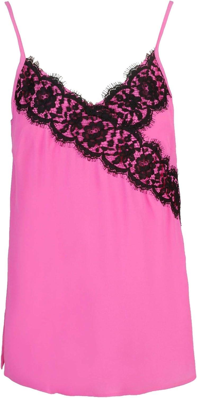 Beatrice B Women's 19FE8271MARA220 Pink Acetate Top