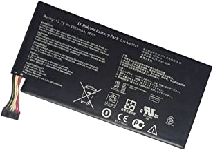 YNYNEW Replacement Tablet Battery for ASUS Google Nexus 7 Table PC 2012 1nd Gen 8GB 16GB 32GB C11-ME370T ME370T 3.7V 4325mAh