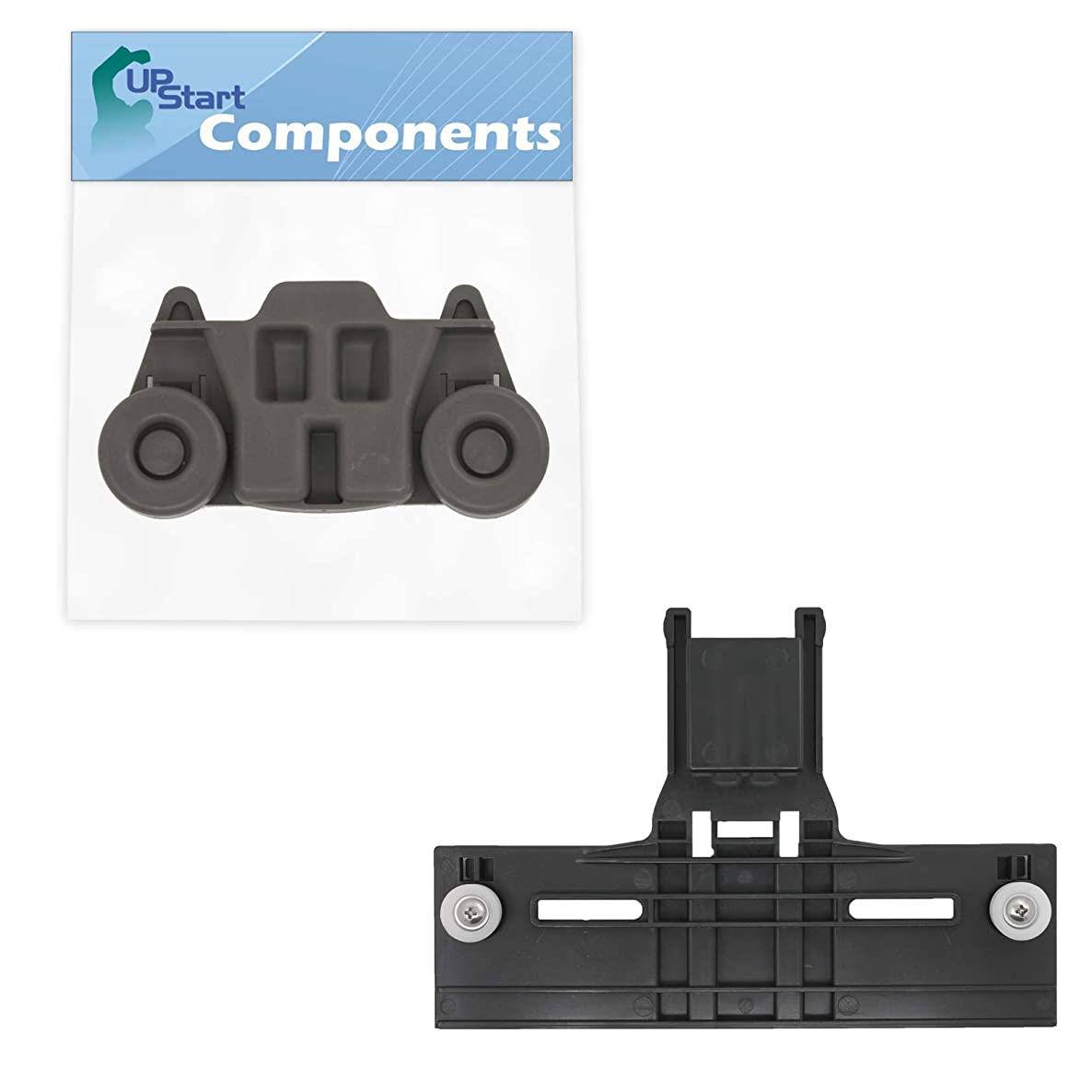 W10350376 Top Rack Adjuster & W10195416 Lower Dishwasher Wheel Replacement for KitchenAid KUDE40FXPA3 Dishwasher - Compatible with W10350376 Rack Upper Top Adjuster & W10195416 Dishrack Wheel Kit