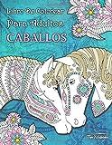 Libro de Colorear Para Adultos Caballos + BONIFICAR más de 60 páginas para colorear gratis (PDF Para Imprimir)