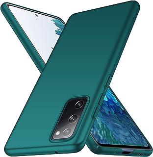 ORNARTO Hülle für Samsung S20 FE, Dünn Schlank Anti Scratch FeinMatt Einfach Handyhülle Abdeckung Stoßstange Hardcase für Samsung Galaxy S20 FE (2020) 6,5 Zoll Grün