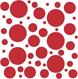 Best red circle wall decals Reviews