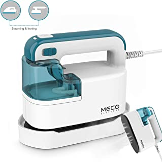MECO Garment Steamer, Steamer for Clothes 950W Mini Steam Iron 4 in 1 Handheld Steamer with 120ml Removable Water Tank, 40s Fast Preheating, Horizontal/Vertical Ironing for Home and Travel