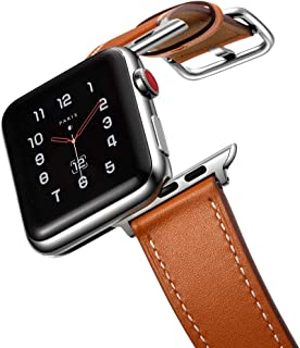 Best faux leather apple watch band Reviews
