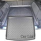 Car Lux AR01950 - Alfombra cubeta Protector Cubre Maletero Extrem a Medida y Antideslizante para Mercedes GLE V 167 Desde 2018-