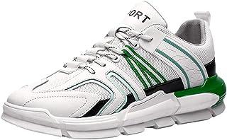 HEETEY Zapatillas de deporte para hombre, ligeras, transpirables, para el tiempo libre, de malla, transpirables, portátile...