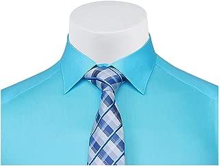 Buenza Düz Renk Dar Kesim Yeni Erkek Gömlek-Turkuaz