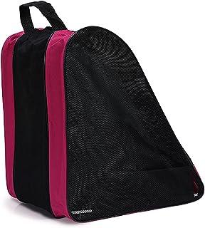 Decdeal Children Roller Skating Bags Waterproof Skate Bag Skate Shoes Carry Bag Skate Boot Shoulder Bag Adjustable Shoulde...