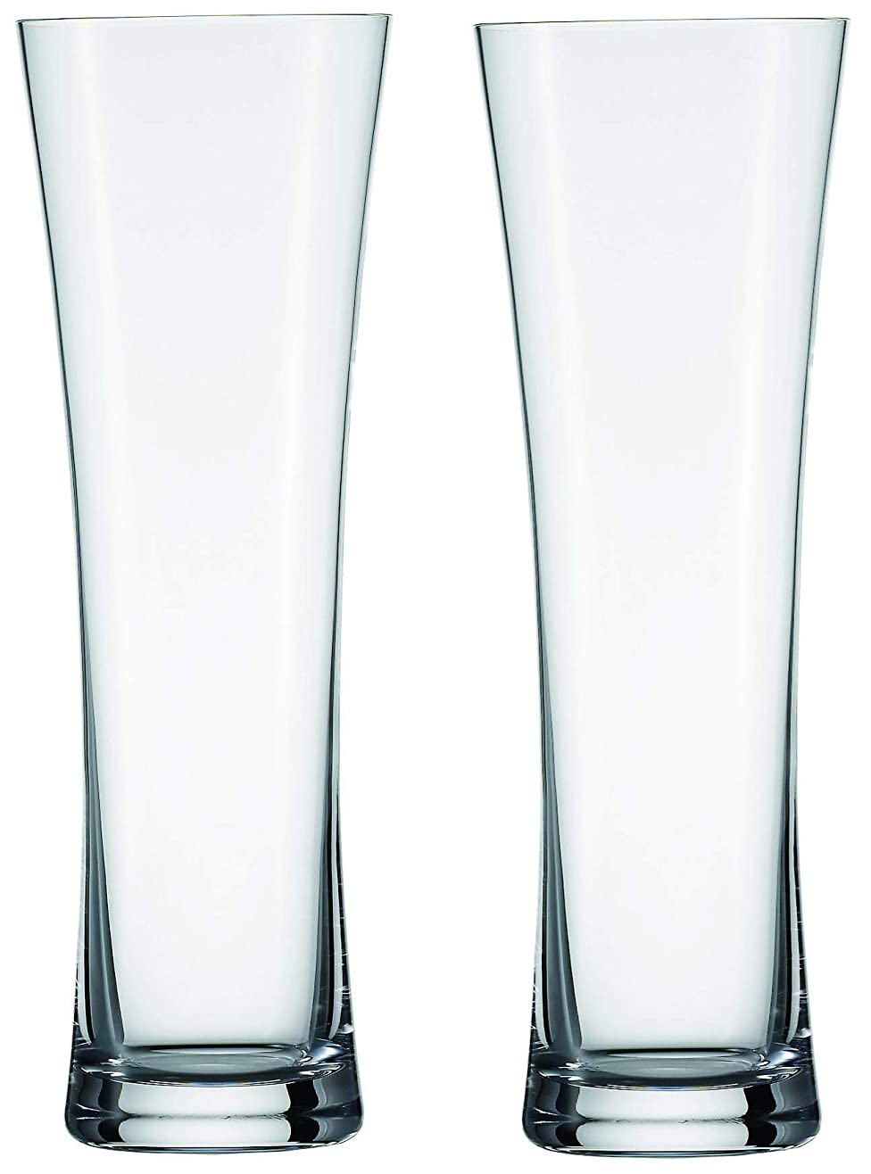 どれかビュッフェあえてショット?ツヴィーゼル ビールグラス クリア 451ml BEER BASIC ヴァイツェンS/ピルスナー P115270 2個入