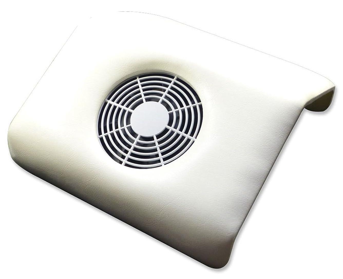 発音ミット手綱ビューティーネイラー ジェルネイル ネイルダストコレクター ラージ DCL-W ホワイト