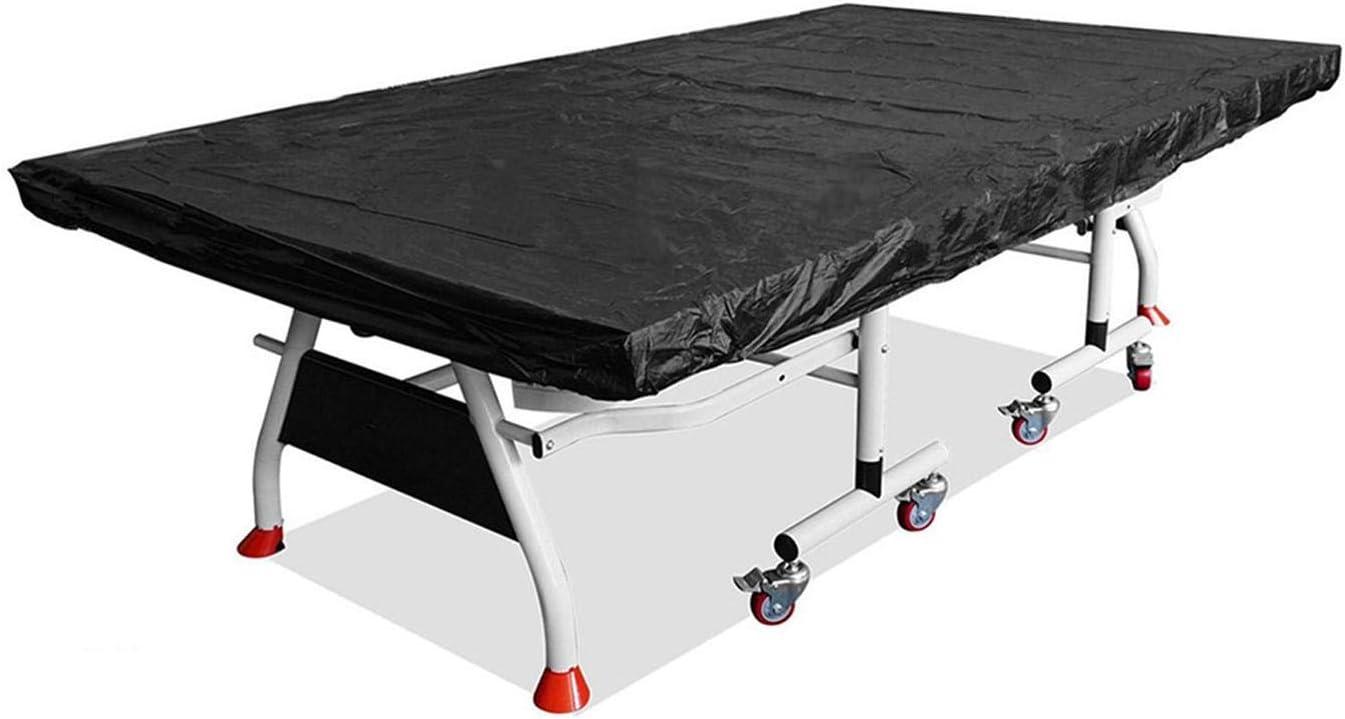 POHOVE Cubierta de tenis de mesa, cubierta impermeable para mesa de ping pong, cubierta protectora de tenis de mesa plegable para interior y exterior
