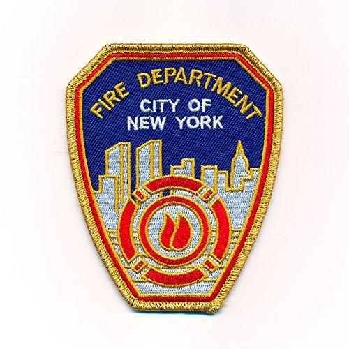 80 x 100 mm Fire Department New York FDNY USA Patches Aufbügler Aufnäher 0974 X