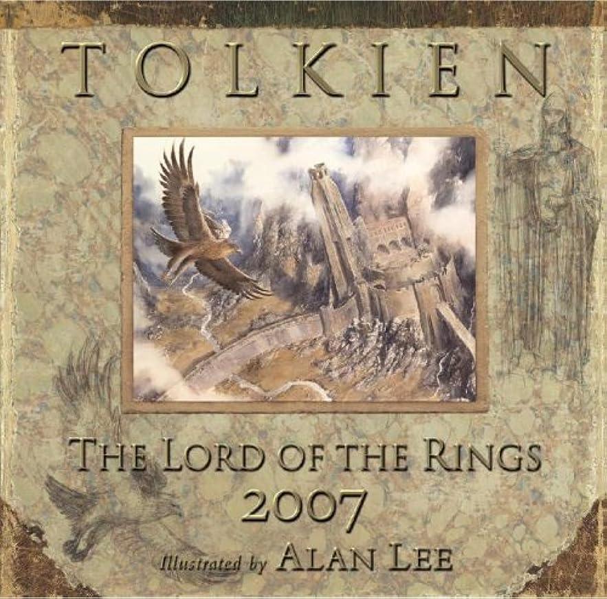 打ち上げるクレーン習熟度The Lord of the Rings Calendar 2007