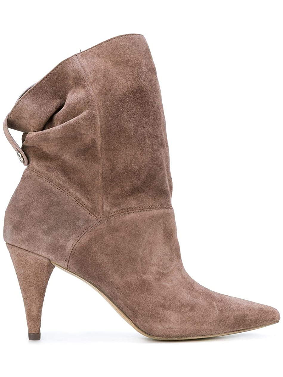 教会仕事に行くエールMICHAEL Michael Kors Womens carey Leather Pointed Toe Ankle Fashion Boots [並行輸入品]