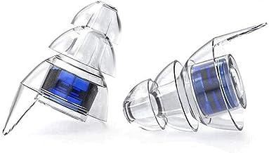 Sangmei Tampões de ouvido de silicone macio Tampões de ouvido com cancelamento de ruído e redução de ruído Isolamento acús...