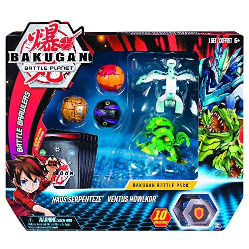 BAKUGAN Battle Pack, 5 sfere, Modelli Assortiti, dai 6 anni