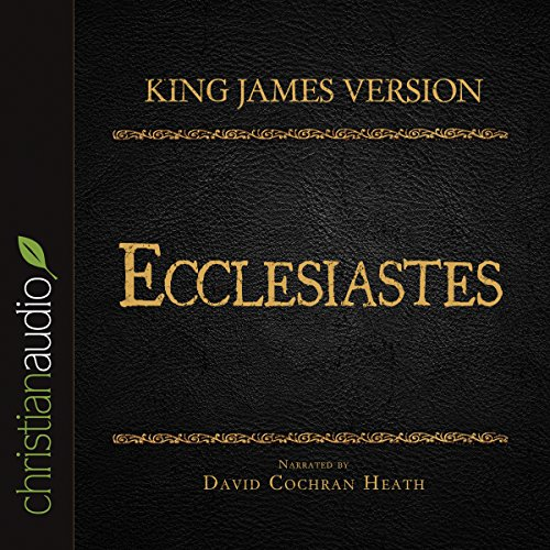 Holy Bible in Audio - King James Version: Ecclesiastes cover art