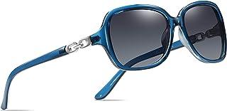Retro Square Polarized Sunglasses for Women 100% UV400 Protection Lens Driving Outdoor Eyewear