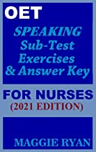OET Speaking (with 20 Sample Role-Plays) For Nurses by Maggie Ryan: Updated OET Preparation Book: 2021 Edition