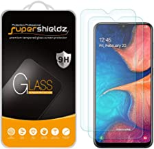 (2 Pack) Supershieldz for Samsung Galaxy A20 (Not Fit for Galaxy S20) Tempered Glass Screen Protector, Anti Scratch, Bubble Free