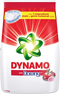 Dynamo Powder with Downy Laundry Detergent, 640g