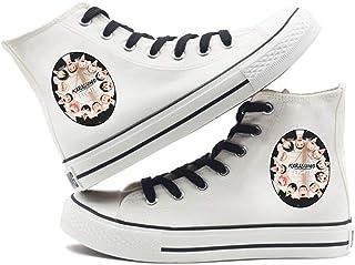Godmoy Haikyuu Canvas Shoes Karasuno Ushijima Wakatoshi Hina