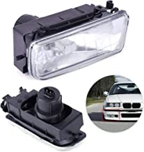 Car Right Bumper Driving Fog Lights Clear Lens Housing Case fit for BMW E36 M3 318 325 1992 1993 1994 1995 1996 1997 1998