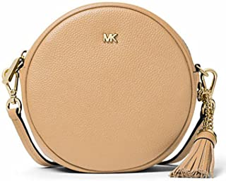 Michael Kors Medium Canteen Round Crossbody Bag Butternut