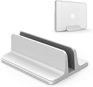 ノートパソコン スタンド 縦置き 収納 ホルダー幅調節可能 アルミ合金素材 OBENRI Vertical Laptop Stand Designed for MacBook Pro Air Mini Clamshell Mode & All ...