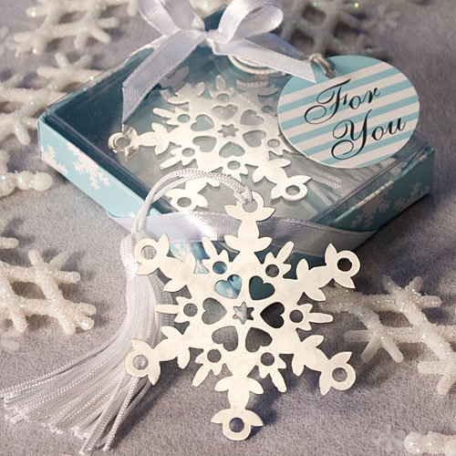 Snowflake Bookmark Wedding Favors: Perfect Winter Favors, 34
