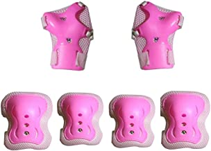 Techcell Kids Knee Pads Elbow Pads Wrist Guards Protective Gear Set for Cycling Skatings Kick Scooter Riding Sports