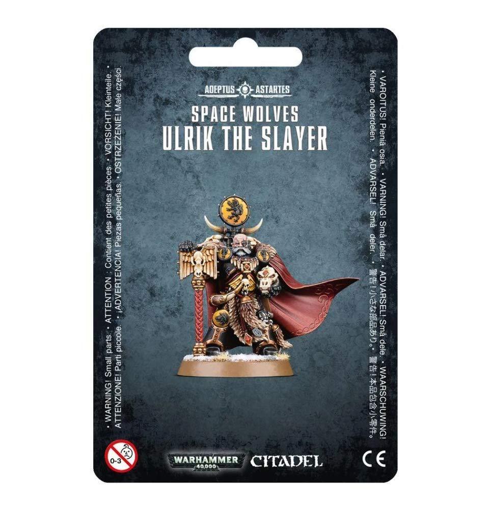 Warhammer 40k Space Wolves Ulrik the Slayer (2016) by Warhammer: Amazon.es: Juguetes y juegos