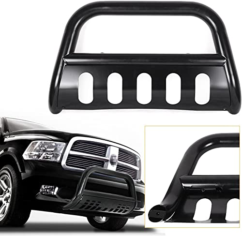 high quality Mallofusa Black discount Front Push Bumper Bull Bar Guard Stainless Steel for 1994-2001 Dodge Ram 1500/1994-2002 Dodge Ram new arrival 2500 3500 sale