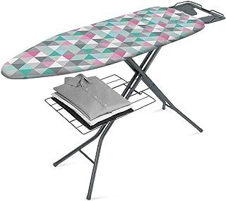 Metaltex Antares - Tabla de Planchar, Tapizado Triángulos, 115x37cm