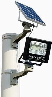 Outdoor Solar Light Waterproof IP67 BRLighting LED Flood Light with Smart Remote Solar Power Spotlight for Home Garden Yard Lawn Pool Light