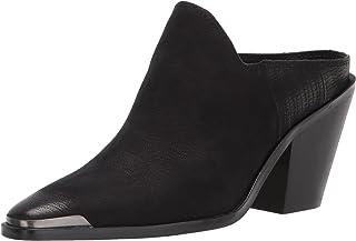 Dolce Vita Women's Kate Ankle Boot, Black Nubuck, 6.5
