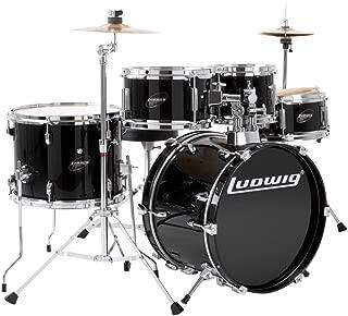 Ludwig Junior Drum Kit, Black (LJR1061)