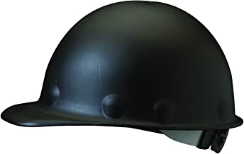 Fibre-Metal Hard Hat Injection Molded Roughneck Fiberglass with 8-Point Ratchet Suspension