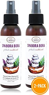 Natural Spray Air Refreshener Uses Patchouli Sandalwood Essential Oils (SPA Bora Bora 2PK)   NO Phthalate, Fragrance, Chem...