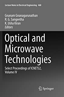Optical And Microwave Technologies: Select Proceedings of ICNETS2, Volume IV