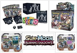 Pokémon TCG Burning Shadows Ultimate Trainer Kit Bundle, Including 1 Booster Box, 1 Elite Trainer Box, and 2 Blister Packs