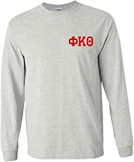 Phi Kappa Theta World Famous Crest Long Sleeve T-Shirt