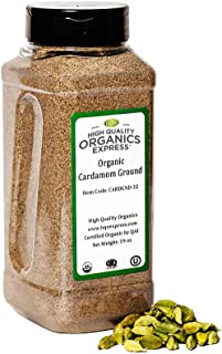 Sponsored Ad - HQOExpress | Organic Ground Cardamom | 19 oz. Chef Jar