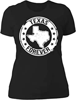 Texas Forever,Love City,Pride,Proud Home State Flag, Lovers Gift Women T-Shirt