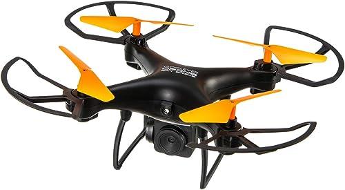 Go clever Sky Tracker Drone Adulte Unisexe, Noir, 30x30